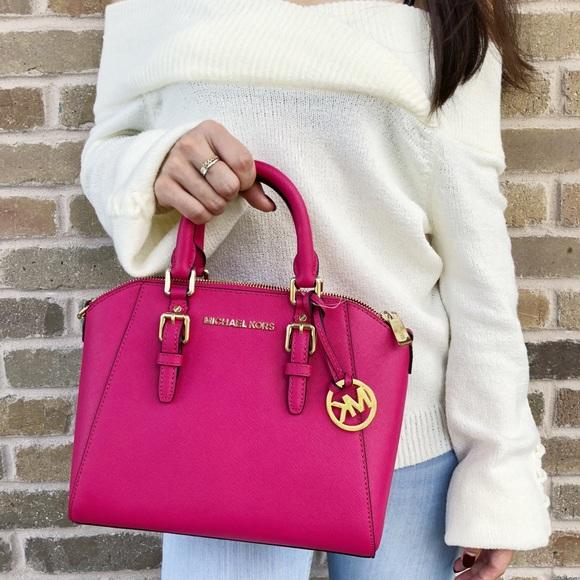 01f659a739b1c3 Michael Kors Bags | Ciara Medium Lipstick Ultra Pink | Poshmark